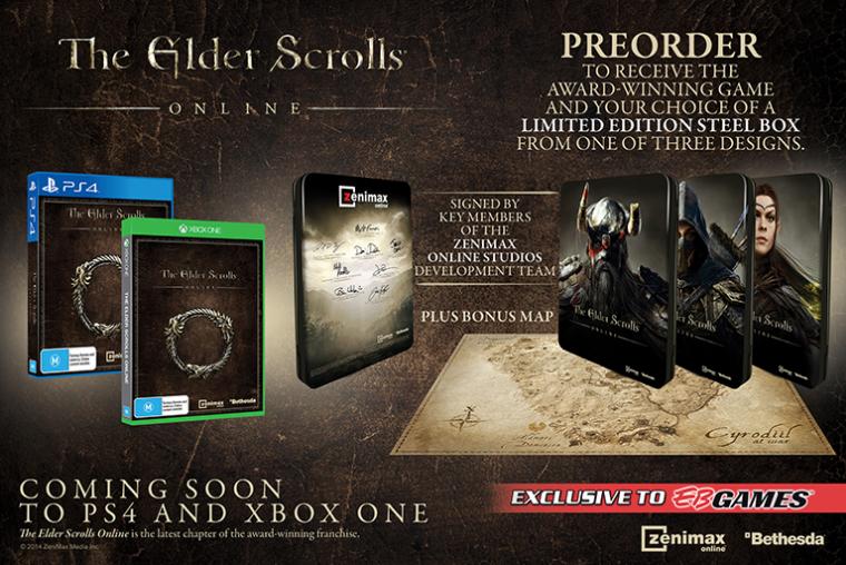 ESO: релиз на консолях Xbox One и Playstation 4